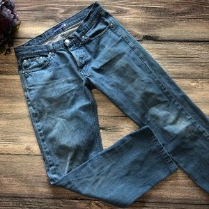 IOAN Classic Straight Selvage Raw Denim Jeans 30